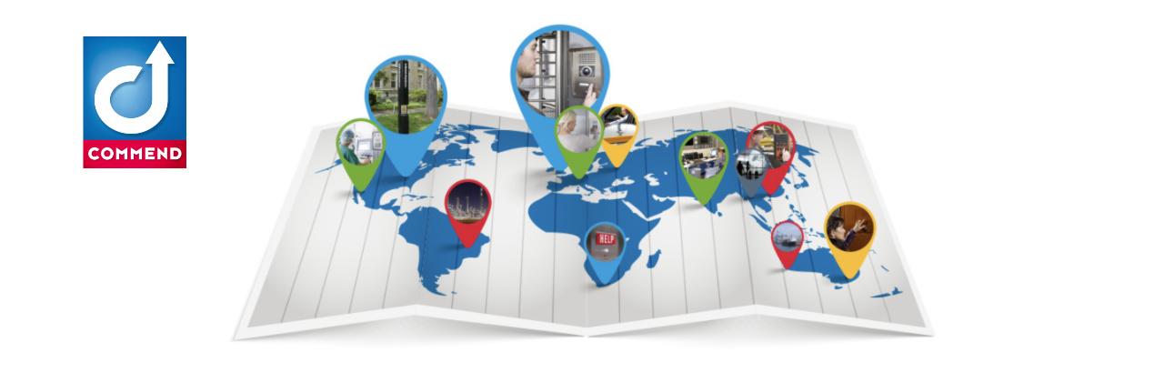 Commend Fallstudie - Intercom Lösungen weltweit