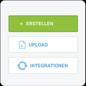Upload Optionen Offene Posten