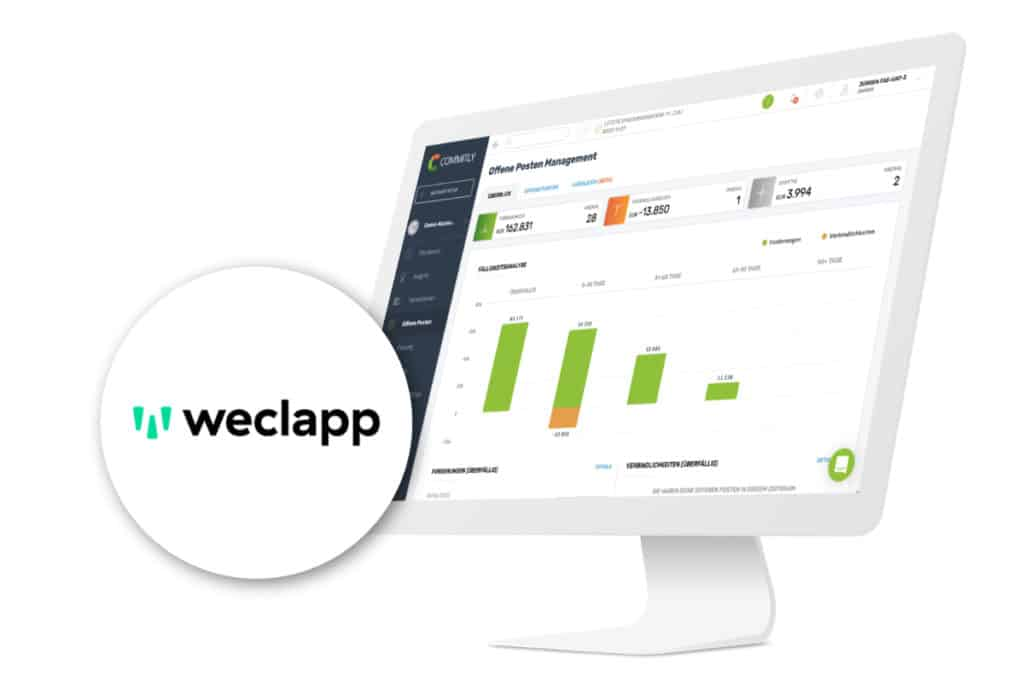 COMMITLY weclapp Integration
